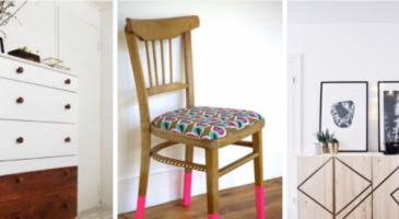 24 relooking de meubles impressionnants !