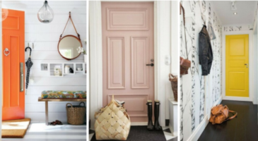 27 idées de couleurs pour relooker sa porte d'intérieur